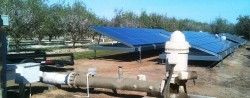 Solar water pumps systems for agricultural farmlands and rural Infrastructure