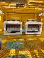 Storage batteries & Battery enclosures.